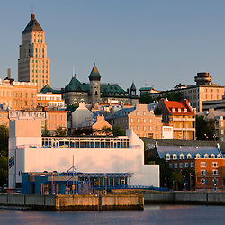 Last light on Quebec City.
