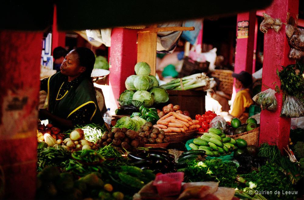Groentemarkt in Mombasa