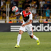 Shakhtar Donetsk's Taison during their UEFA Champions league third qualifying round first leg soccer match Fenerbahce between Shakhtar Donetsk at the Sukru Saracaoglu stadium in Istanbul Turkey on Tuesday 28 July 2015. Photo by Aykut AKICI/TURKPIX