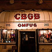 CBGB in New York