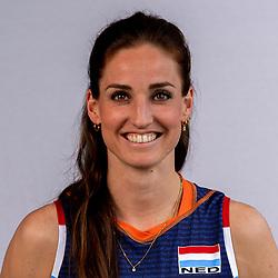 Myrthe Schoot of Netherlands, Photoshoot selection of Orange women's volleybal team season 2021on may 12, 2021 in Arnhem, Netherlands (Photo by RHF Agency/Ronald Hoogendoorn)