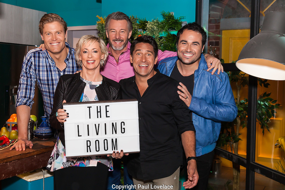 Jamie Durie is the special guest of The Living Room, Network Ten, Sydney. 28 May 2015