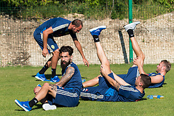 July 4, 2018 - Gelendzhik, Russia - 180704 Jimmy Durmaz of the Swedish national football team at a practice session during the FIFA World Cup on July 4, 2018 in Gelendzhik..Photo: Petter Arvidson / BILDBYRN / kod PA / 92081 (Credit Image: © Petter Arvidson/Bildbyran via ZUMA Press)