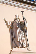 Athens Greece Athens University Statue Of Patriarch Grigorios V (Gregory The 5th)
