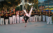 Outdoor Capoeira performance