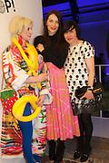 JULIE VERHOEVEN; ROKSANDA ILCINC; ALICE RAWTHORN, Pop party. the birthday celebration of twin sisters Valeria Napoleone and Stefania Pramma. Studio Voltaire, London SW4. 17 May 2013.