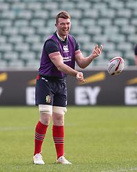 British & Irish Lions Peter O'Mahony during the training session at the QBE Stadium, Auckland.