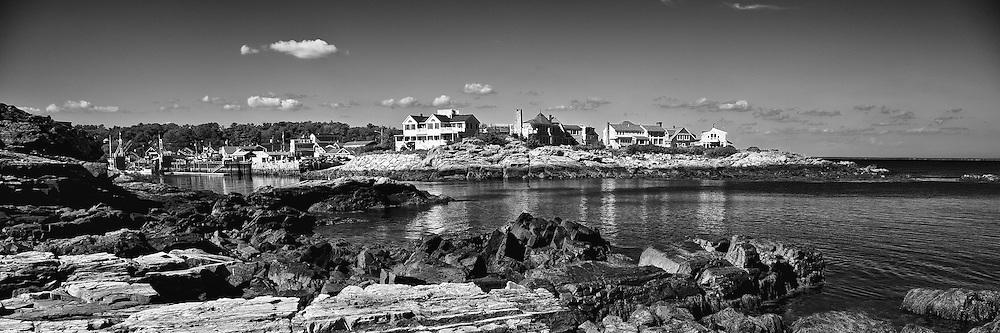 The entrance to the quaint and charming Perkins Cove in Ogunquit, ME.