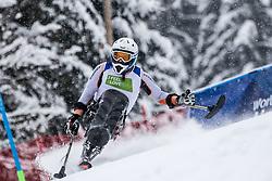 Nolte Thomas of Germany during Slalom race at 2019 World Para Alpine Skiing Championship, on January 23, 2019 in Kranjska Gora, Slovenia. Photo by Matic Ritonja / Sportida