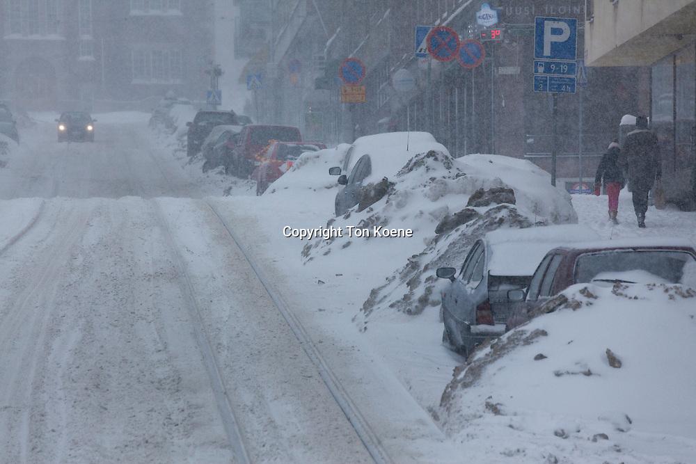 snow in helsinki