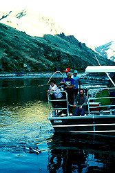 ID: Idaho Hell's Canyon, Snake River, sturgeon fishing, scenic and jet boat    .Photo: idhell104.Photo copyright: Lee Foster, www.fostertravel.com, 510-549-2202, lee@fostertravel.com