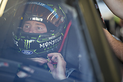 July 13, 2018 - Sparta, Kentucky, United States of America - Kurt Busch (41) gets ready to practice for the Quaker State 400 at Kentucky Speedway in Sparta, Kentucky. (Credit Image: © Stephen A. Arce/ASP via ZUMA Wire)