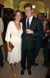 PADDY & LUCINDA BYNG at a party to celebrate the 10th anniversary of the Smythson Fashion Diary and to the launch of the 2007 Limited Edition held at Smythson, New Bond Street, London on 25th October 2006.<br /><br />NON EXCLUSIVE - WORLD RIGHTS