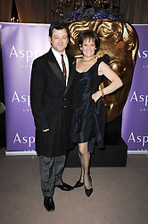 Andy Serkis with his wife Lorraine Asbourne at the Orange BAFTA's Nominees party held at Asprey, 165 New Bond Street, London on 20th February 2010.