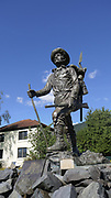 "William ""Skagway Bill"" Fonda Statue, Pioneer Home,"