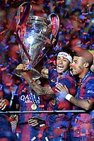 Neymar Esultanza Celebration <br /> Berlino 06-06-2015 OlympiaStadion  <br /> Juventus Barcelona - Juventus Barcellona <br /> Finale Final Champions League 2014/2015 <br /> Foto Matteo Gribaudi/Image Sport/Insidefoto