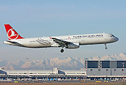 Turkish Airlines, Airbus A321-231.