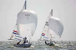 08_002624 © Sander van der Borch. Medemblik - The Netherlands,  May 24th 2008 . Day 4 of the Delta Lloyd Regatta 2008.