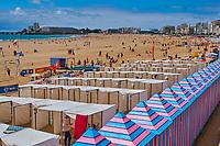 France, Vendée (85), Les Sables-d'Olonne, la plage // France, Vendée, Les Sables-d'Olonne, the beach
