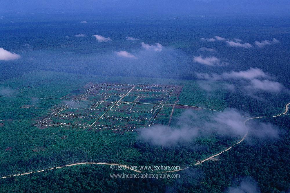 Transmigration settlement, Mimika, Papua, Indonesia.