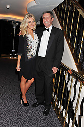 MOLLIE KING and her father STEVE KING at the Dyslexia Action Awards Dinner at The Savoy Hotel, London on 29th November 2012.