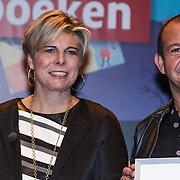 NLD/Amsterdam/20131112 - Presentatie DE Sinterklaasboeken, prinses Laurentien en Najib Amhali