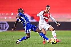 January 19, 2019 - Monaco, France - 22 YOUSSOUF FOFANA (STRA) - 08 YOURI TIELEMANS  (Credit Image: © Panoramic via ZUMA Press)