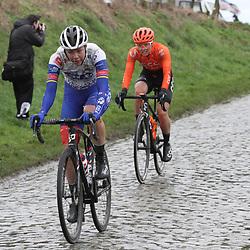 29-02-2020: Wielrennen: Omloop Nieuwsblad: Ninove: Emilia Fahlin
