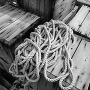 100 year old cordage