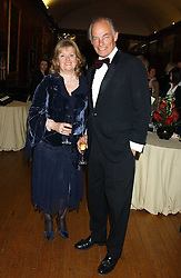 The MARQUESS & MARCHIONESS OF READING at a fundraising dinner in aid of the Hoedspruit Endangered Species Foundation in the presence of TRH Rrince & Princess Michael of Kent at Kensington Palace, London on 2nd March 2006.<br /><br />NON EXCLUSIVE - WORLD RIGHTS