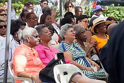 St. Thomas Swearing-In Ceremony for the 32nd Legislature of the US Virgin Islands.  Emancipation Garden.  St. Thomas, VI.  9 January 2017.  © Aisha-Zakiya Boyd