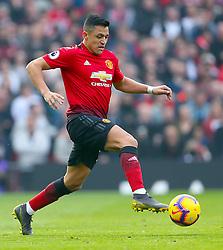Manchester United's Alexis Sanchez in action