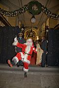 FATHER XMAS, Patsy Kensit turns on Burlington Arcade Christmas Lights, Burlington Arcade, London, W1. 26 November 2008 *** Local Caption *** -DO NOT ARCHIVE -Copyright Photograph by Dafydd Jones. 248 Clapham Rd. London SW9 0PZ. Tel 0207 820 0771. www.dafjones.com