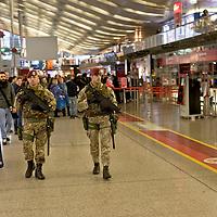 Terrorist alarm in Rome