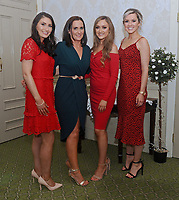 Sarah Gibbons, Linda Barrett, Fiona Groden and Donna Hester pictured at Kilmeena Gaa Club Valentine's Dinner dance function at Knockranny House Hotel.<br />
