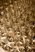 Brumadinho_MG, Brasil...Detalhe de tacas para o jantar do festival de gastronomia Sabor e Saber...Detail of glasses for the dinner in the gastronomy festival Sabor e Saber...Foto: BRUNO MAGALHAES / NITRO