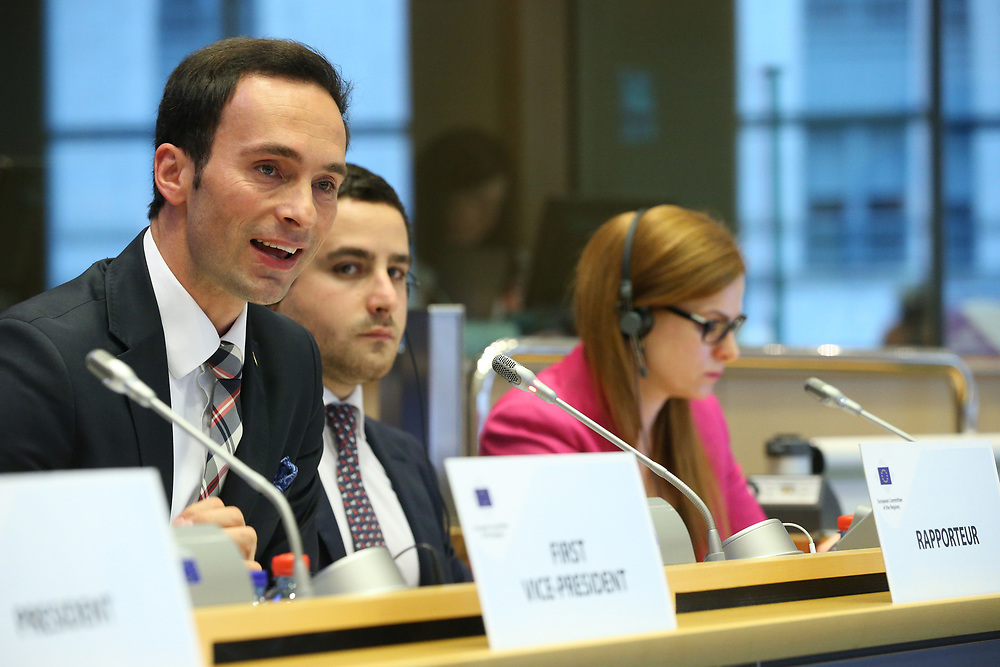 11 May 2017, 123rd Plenary Session of the European Committee of the Regions <br /> Belgium - Brussels - May 2017 <br /> <br /> Mr Pavel Grzybowski (PL/ECR)<br /> <br /> © European Union / Patrick Mascart