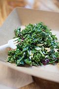 healthy kale salad