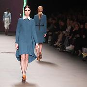 NLD/Amsterdam/20160115 - Amsterdam Fashion Week 2016 Winter, modeshow Claes Iversen,