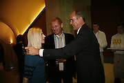Sarah Emily Miano, Andrew Motion and Sandy Nairne, Burberry celebrates the opening of the Hockney exhibition and their 150th anniversary with a party at the National Portrait Gallery. 11 October 2006. -DO NOT ARCHIVE-© Copyright Photograph by Dafydd Jones 66 Stockwell Park Rd. London SW9 0DA Tel 020 7733 0108 www.dafjones.com