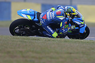 #36 Joan Mir, Spanish: Team Suzuki Ecstar during the MotoGP Grand Prix de France at the Bugatti Circuit at Le Mans, Le Mans, France on 18 May 2019.
