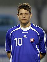 Fotball / Football<br /> International U 21 match<br /> Norge v Slovakia 0-0<br /> Norway v Slovakia 0-0 at La Manga - Spain<br /> 07.02.2007<br /> Foto: Morten Olsen, Digitalsport<br /> <br /> Portretter Slovakia / Portraits Slovakia<br /> <br /> Vratislav Gajdos