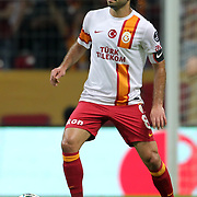 Galatasaray's Selcuk Inan during their Turkish Super League soccer match Galatasaray between Eskisehirspor at the TT Arena at Seyrantepe in Istanbul Turkey on Saturday, 06 October 2012. Photo by TURKPIX