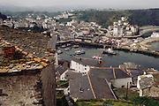 The port of Luarca, in Asturias Northern Spain.