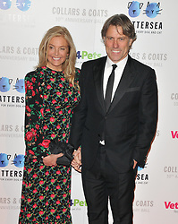Jim Chapman at the Battersea Dogs. 01 Nov 2018 Pictured: Melanie Bishop and John Bishop. Photo credit: CAN/Capital Pictures / MEGA TheMegaAgency.com +1 888 505 6342
