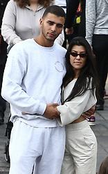 September 28, 2017 - Kourtney Kardashian and boyfriend Younes Bendjima at Disneyland Paris,. 28 Sep 2017 Pictured: Kourtney Kardashian and boyfriend Younes Bendjima at Disneyland Paris. Photo credit: CPE / MEGA TheMegaAgency.com +1 888 505 6342