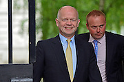 © Licensed to London News Pictures. 11/06/2013. westminster, UK . <br /> William Hague, Conservative MP, Secretary of State for Foreign and Commonwealth Affairs. Ministers on Downing Street today 11th June 2013. Photo credit : Stephen Simpson/LNP