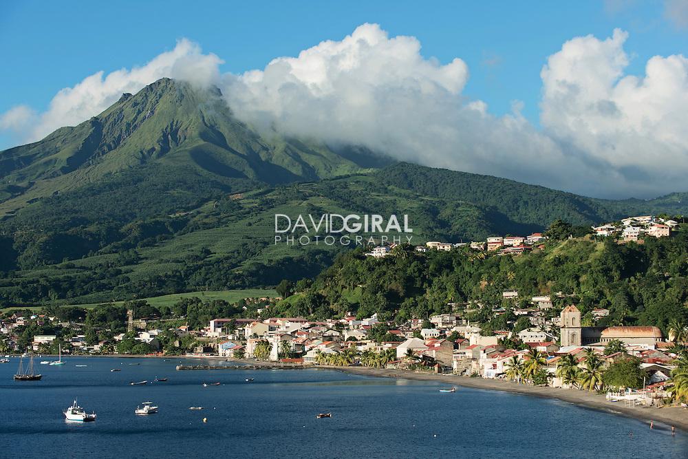 Ville de Saint Pierre, Saint-Pierre City, Martinique, France