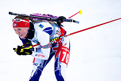 LIGHTFOOT Amanda of Great Britain during Women 7.5 km Sprint of the e.on IBU Biathlon World Cup on Thursday, March 6, 2014 in Pokljuka, Slovenia. The first e.on IBU World Cup stage is taking place in Rudno polje - Pokljuka, Slovenia until Sunday March 9, 2014. Photo by Matic Klansek Velej / Sportida