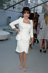 JOAN COLLINS at the Glamour Women of the Year Awards in association with Pandora held in Berkeley Square Gardens, London on 4th June 2013.